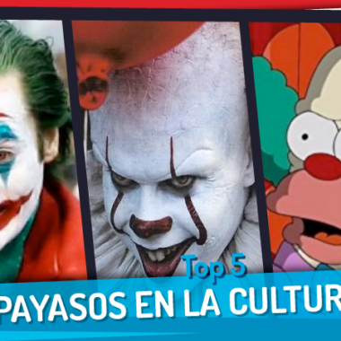 Top 5 Payasos en la cultura Pop
