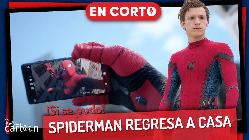 Spiderman regresa al MCU